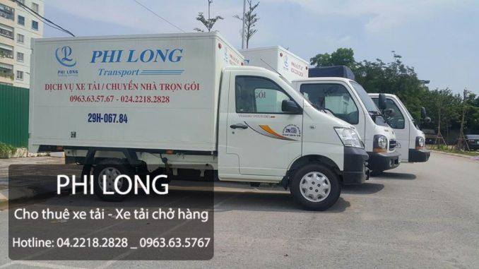 Dịch vụ cho thuê xe tải Phi Long tại xã Bình Minh