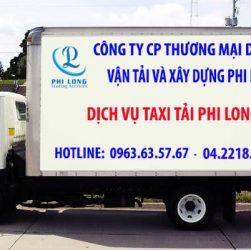 Dịch vụ cho thuê xe tải tại xã Phú Kim
