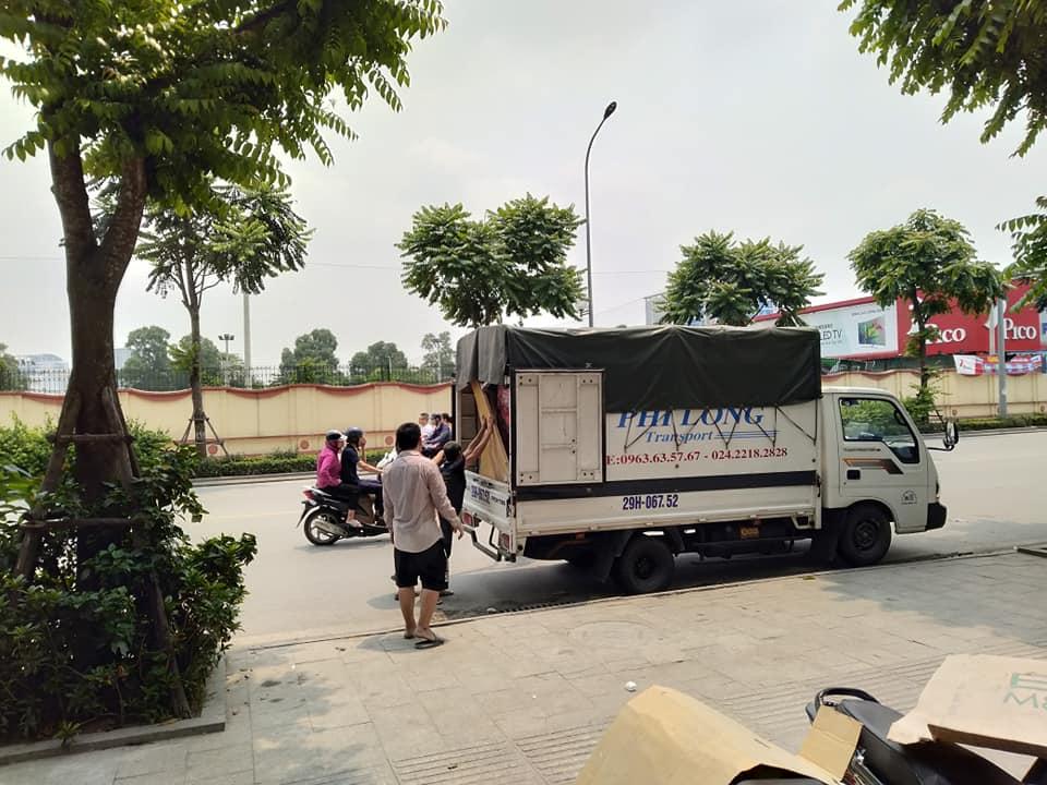 Thuê xe tải chất lượng Phi Long phố Lương Khánh Thiện