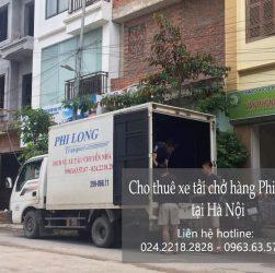 Dịch vụ thuê xe tải tại xã tiến xuân