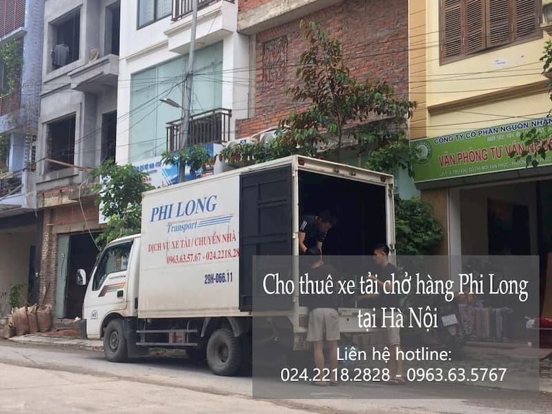 Dịch vụ thuê xe tải Phi Long tại đường nam đồng