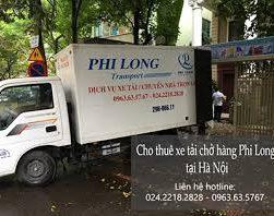 dịch vụ thuê xe tải Phi Long tại đường phùng hưng