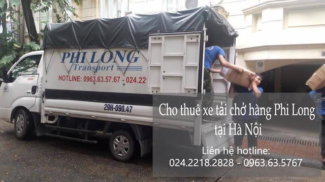 Dịch vụ thuê xe tải Phi Long tại phố Pháo Đài Láng
