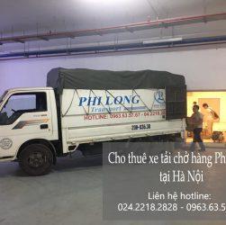 Dịch vụ cho thuê xe tải Phi Long tại đường Phúc Diễn