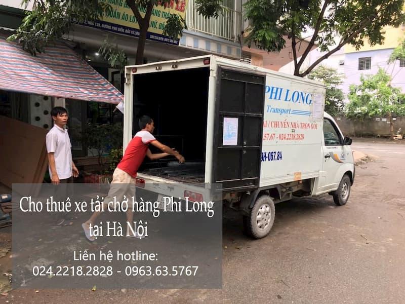 Dịch vụ thuê xe tải Phi Long tại phố Mai Dịch