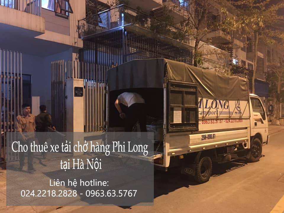 Dịch vụ thuê xe tải Phi Long tại đường Nghĩa Đô