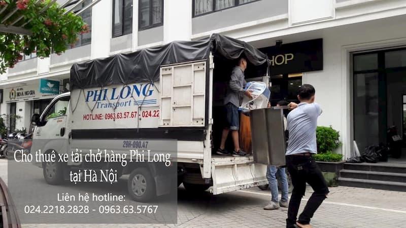Dịch vụ cho thuê xe tải Phi Long tại đường Hội Xá