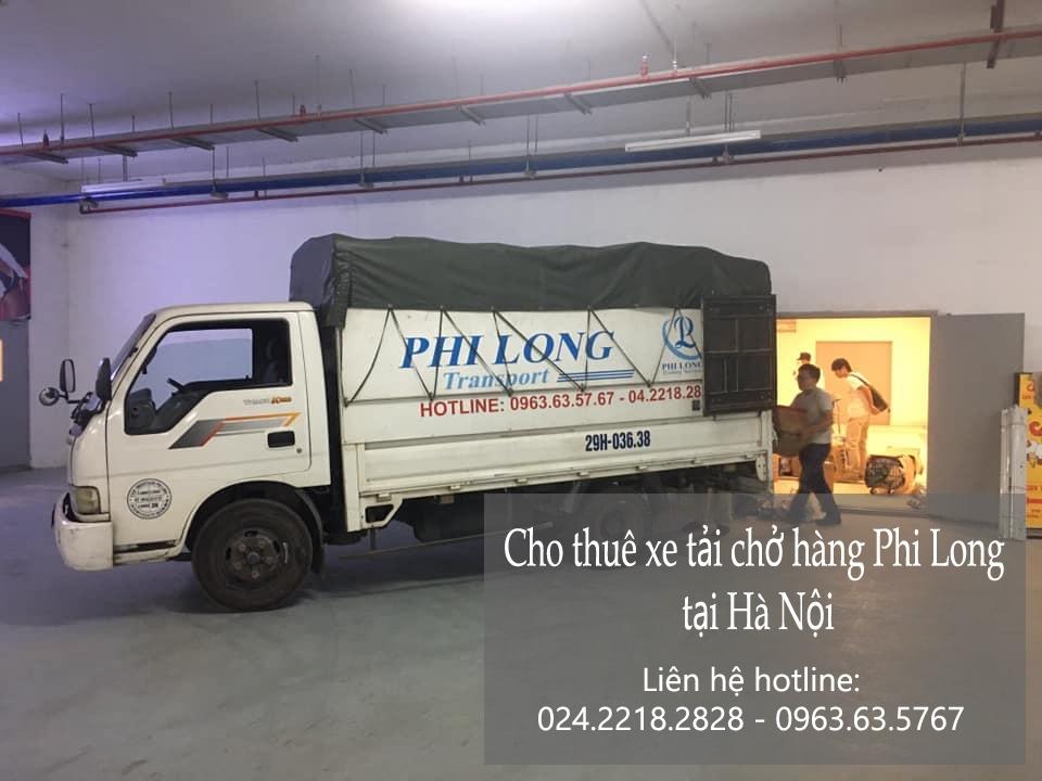 Dịch vụ thuê xe tải Phi Long tại đường giang biên