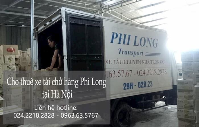Cần thuê taxi tải tại hà nội? hãy liên hệ Phi Long !