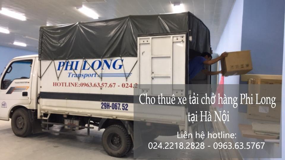 Phi Long taxi tải giá rẻ phố Trần Bình