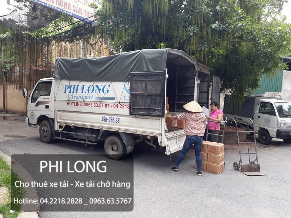 Dịch vụ thuê xe tải tại đường Ngô Gia Tự