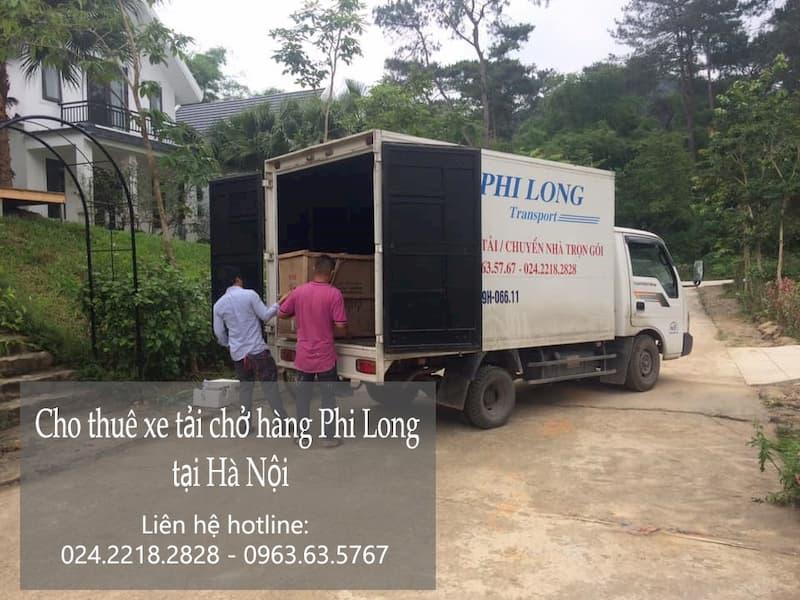Dịch vụ thuê xe tải Phi Long tại đường Tình Quang