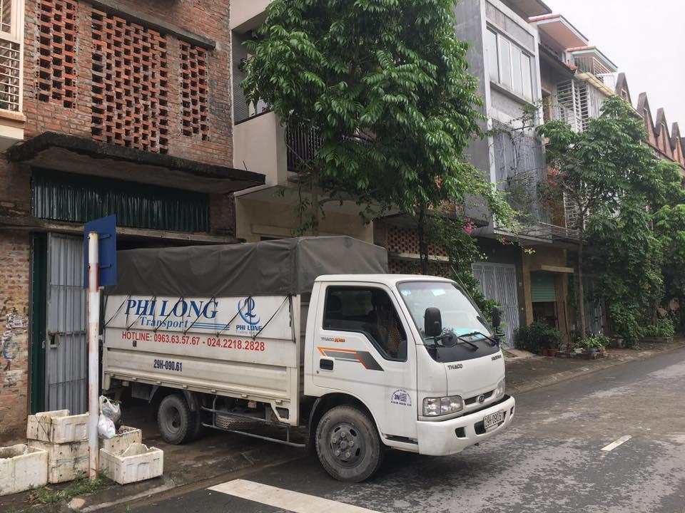 Xe tải chở hàng phố Tôn Thất Đàm đi Hải Dương
