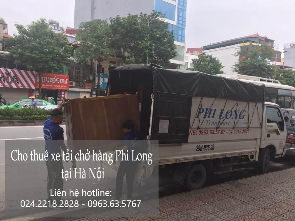 taxi tai gia re ha noi chở hàng tại phố Ngọc Hà
