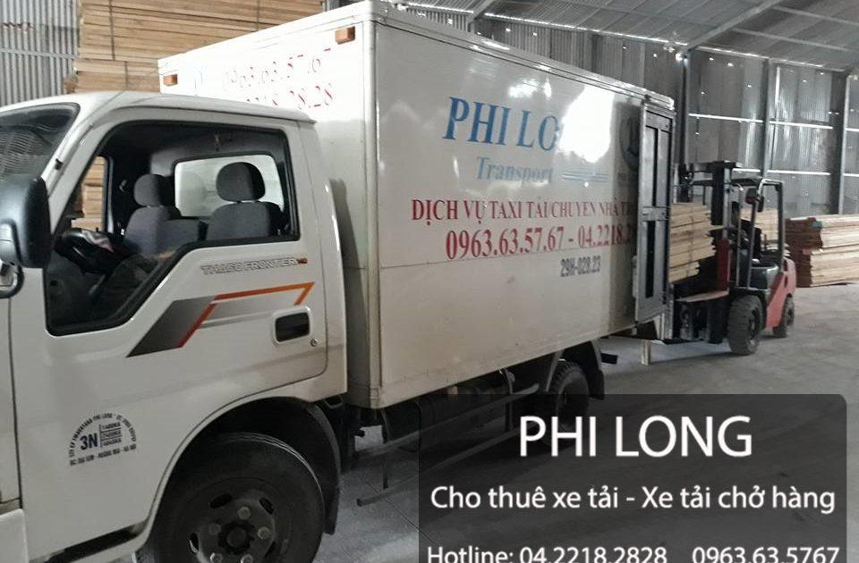 Cho thuê xe tải giá rẻ chất lượng tại khu đô thị Trung Văn