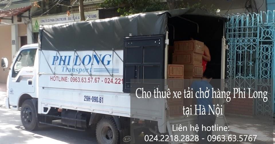 Dịch vụ thuê xe tải phi long tại phố Tương Mai