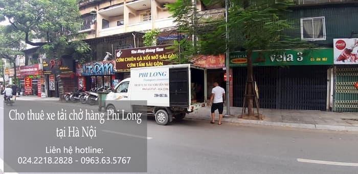 Thuê xe tải giá rẻ phố Hàng Hòm đi Hòa Bình