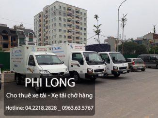 Thuê xe tải phố Hàng Bún đi Hòa Bình
