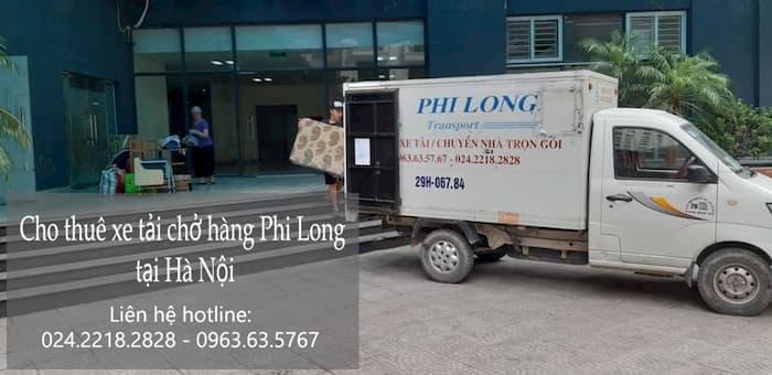 Thuê xe tải giá rẻ phố Hàng Gai đi Hòa Bình