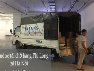 Dịch vụ thuê xe tải tại đường Nguyễn Hoàng đi Hải Phòng