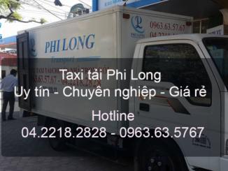 Dịch vụ cho thuê xe tải tại phố An Xá đi Hải Phòng