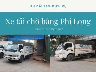 Thuê xe tải phố Chợ Gạo đi Quảng Ninh