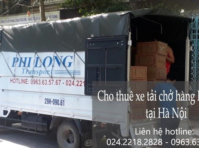 Thuê xe tải giá rẻ tại đường Thượng Thanh đi Thanh Hóa